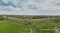 Ouse Valley Viaduct (2 of 2) (Darren Wood) Tags: balcombe england unitedkingdom gb sussex viaduct ouse valley railway drone dji mavic train river