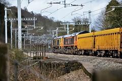 66740 & 66723 (stavioni) Tags: gbrf class66 shed diesel freight railfreight railway train 66723 chinook 66740 sarah
