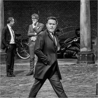Xander on the Binnenhof