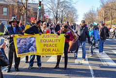 2018.04.04 The People's March for Justice, Equity and Peace, Washington, DC USA 01162