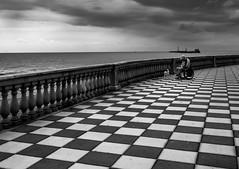 alone (robertoburchi1) Tags: blackwhite bianconero conceptual people street