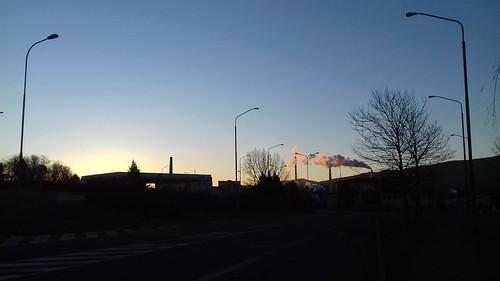 sunrise in Zvolen