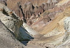 """""""Red Cathedral"""" / Death Valley (Ron Wolf) Tags: cenozoic deathvalleynationalpark earthscience furnacecreekformation geology miocene nationalpark petrology tertiary canyon conglomerate deposition desert erosion landscape mudstone nature siltstone california explore"""