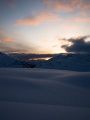 Dawn on the Neve