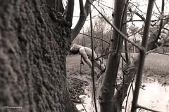 Apesanteur avec JGArtphotography (a.ntho49) Tags: nude man naked nature bondage gay art marais ile isle water