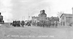 Cartwright - 9th Overseas Mounted Rifles, WWI 2 (vintage.winnipeg) Tags: manitoba canada vintage history historic ruralmanitoba cartwright