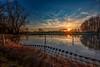 Sunset in Paradise (M-Z-Photo) Tags: geslau bayern deutschland de see reflxionen wasserspiegelung sonnenuntergang hdr weiher natur landschaft abendstimmung idylle