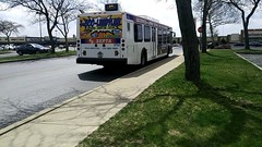 5735 at Whitman Plaza (NeoplanDan) Tags: septa trains rail transit bus new flyer d40lf