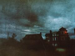 Vampire house (BLACK EYED SUZY) Tags: suzyblase haunted beach mobileart dark spooky mansion vampire