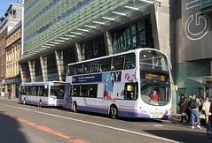 First Glasgow's SF07 FDD (West Scotland Transport) Tags: baillieston ebg sn13 sn13ebg 37173 fdd sf07 sf07fdd 2 envirobus enviro enviro300 dennis alexander alexanderdennis sandyhills 61 glasgow single bus decker double volvob7tl volvobus volvo wrightbus wrightgemini firstgroup firstbus firstglasgow first