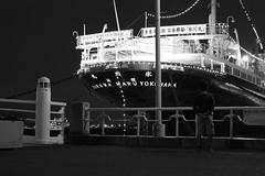 Hikawa Maru (Ill Ana) Tags: hikawa maru yokohama japan japanese ship ocean kobe seatle monochrome children sea ports