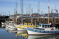 safe harbor (eb78) Tags: ca california sf sanfrancisco fishermanswharf boats harbor