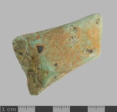 Vessel Leg 16th-17th C 1 (Ks Ed) Tags: relic artifact artefact england uk metal detecting detector norfolk historic historical dug excavated find postmedieval pot leg vessel