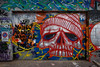IMGP9658 Street Art (Claudio e Lucia Images around the world) Tags: skull street streetart milano portagaribaldi redskull art painting murale graffiti graffito paintedwall pentax pentaxk3ii sigma sigma1020