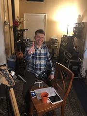 Fnkestra in Boston, MA (Redtenbacher's Funkestra) Tags: mikesturgis davelimina woolymammothsound eran kendler angelosubero yauremuniz funk funkbass jazzfunk redtenbachersfunkestra funkestra groove boston berkleecollegeofmusic hammondb3 piano recordingsession recordingstudio davidminehan