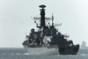 P1020409a_DxO (alanbryherhowell) Tags: royal navy frigate portsmouth solent duke class boat sea sky vessel ship water building ocean hms st albans