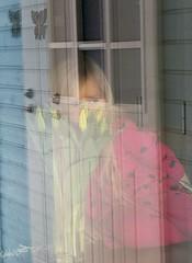 Dreamer (Susanna Valkeinen) Tags: daughter reflection easterflowers finland