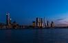 Rotterdam by night (cstevens2) Tags: nederland rotterdam thenetherlands zuidholland cityscape city architecture architectuur erasmusbrug nightphotography travel reizen longexposure langesluitertijd water river rivier