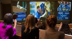 Expedition 55 Soyuz Docking (NHQ201803240002) (NASA HQ PHOTO) Tags: missioncontrolcentermoscowtsup korolev rickyarnold roscosmos internationalspacestationiss russia soyuzms08 expedition55 tsup rus nasa joelkowsky