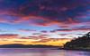 Pink Dawn Clouds Seascape (Merrillie) Tags: daybreak sunrise nature dawn coast water morning sea newsouthwales rocks pearlbeach nsw rocky waterscape ocean earlymorning landscape waves coastal clouds outdoors seascape australia centralcoast sky seaside