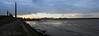 13/52 Dublin port (Leo Bissett) Tags: river liffey port harbour chimney stack shore sea tide dublin ireland wall nature ferry