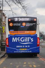McGill's, Greenock 3353 BF67WKL (busmanscotland) Tags: mcgills greenock 3353 bf67wkl bf67 wkl mercedes benz mercedesbenz citaro o295