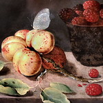 IMG_0505F Osias Beert II 1622-1678. Anvers  Prunes et framboises. Plums and raspberries. Quimper. Musée des Beaux Arts. thumbnail