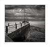 Cancale, Brittany (Gary Rowlands) Tags: france 2018roadtrip leicas summarits 70mm cancale bw monochrome seaside sea englishchannel