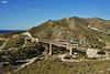 Barranc d'Aigües Baixes (lagunadani) Tags: viaducto puente bridge elcampello aigüesbaixes fgv tram trentram tranvia ferrocarril tren railway vossloh 4100 paisaje narrow gauge alicante