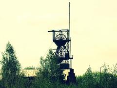 KWK Siemianowice, Szyb Bańgów, 03.05.2007 (Marcin Kapica ...) Tags: kopalnia kwk szyb śląsk silesia oberschlesien mine minenschacht coalmines coalmining coal mining shaft przemysł industry industrial bergbau schlesien schacht