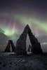 Artic Henge (Laurent BASTIDE Photographies) Tags: iceland artic henge aurore boréale boréalis aurora landscape night stars clouds canonphotographers canon1635f4liusm canon canon6d