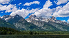 (Clint Everett) Tags: landscape mountains clouds sky tetons grandteton nationalpark publiclands summer green trees wyoming