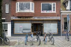 Verleden tijd en tegenwoordige tijd (Tim Boric) Tags: groningen winkel gevel shop front fiets bicycle kijkintjatstraat foto doka