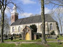 Church and cemetary of Tjamsweerd (Joop van Meer) Tags: 2018 appingedam wadenwierdenpad tjamsweer