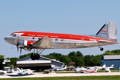 N143D   Douglas DC-3A [2054] (Academy Airlines / Herpa) Oshkosh-Wittman Regional~N 30/07/2008 (raybarber2) Tags: 2054 airportdata approachtodo cn2054 flickr kosh n143d propliner usacivil