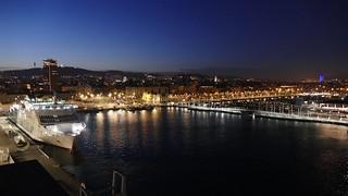Barcelona Spain by night