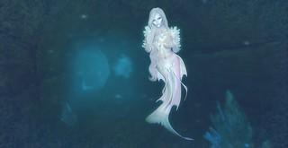 Lisa: Water Elemental (ice mermaid)