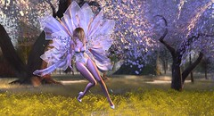 Ange et Papillon (felycegalicia) Tags: irrisistible fantasy shop swank event angel fairy spring outfit clothes costume fancy women woman applier mesh dress shoes hairs maitreya belleza slink hourglass alafolie