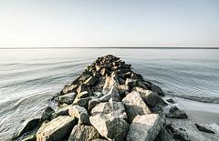 NIECHORZE (danieltroczynski) Tags: niechorze morze sea sunset zachódsłońca kamienie stones