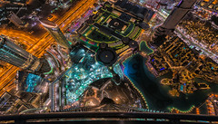 Dubai at night (Katherine Young) Tags: dubai uae view pano panorama nikon night lights architecture city urban cityscape down glass building skyscraper towers offices traffic windows travel tourism visit destination holiday emirates unitedarabemirates middleeast modern landmark monument structure nightscape sightseeing popular iconic touristy lake fountain construction