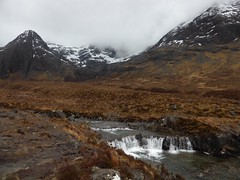 Fairy Pools in Glen Brittle heading east along the stream through Coire na Creiche, Skye (Alta alatis patent) Tags: fairypools skye landscape scotland waterfall river brittle cullin mountains