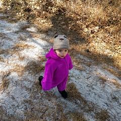 Little bear starts walking... (tjkopena) Tags: backpacking mullica river nj camping pine barrens