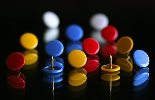 primary color circles
