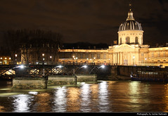 Institut de France & Pont des Arts @ Night, Paris, France (JH_1982) Tags: institut de france 法兰西学会 フランス学士院 프랑스 학사원 институт франции pont des arts passerelle puente artes 艺术桥 ポンデザール мост искусств pedestrian bridge fussgängerbrücke brücke seine sena senna 塞纳河 セーヌ川 센 강 сена river fluss reflection reflections spiegelung lights light glow glowing leuchten dunkel dark darkness nacht night nuit noche notte 晚上 夜 ночь beleuchtet beleuchtung lumière luz 光 свет evening paris parís parigi 巴黎 パリ 파리 париж باريس frankreich francia frança 法国 フランス франция فرنسا
