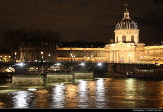 Institut de France & Pont des Arts @ Night, Paris, France