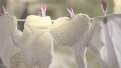 Washing Day (Renate Bomm) Tags: white clothes highkey waschtag babykleidung ef50mmf14lusm hangingoutclothes washingtime sonyalpha6000 renatebomm colgandolaropa clothspin clothespin laundryday