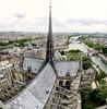 Notre-Dame (szeke) Tags: notredame paris france cathedral church cityscape panorama building spire seine river bridge