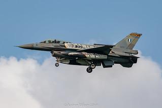 Hellenic Air Force F-16 Tiger Scheme