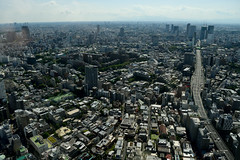 The city goes on an on (varnaboy) Tags: moritower tokyo japan view skyscrapers city urban skyscraper roppongi roppongihills minato aerial landscape sky building skyline