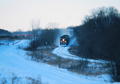 Snaking up down and around (view2share) Tags: gcfx6047 minneapolissub 406 cylon grade gradient profile ridge rolling snow snowfall sd40 sd402 sd45 alstrom emd electromotivedivision engine evening eastbound cn canadiannational cold wisconsin wi winter rr railroad railroading railway railroads rails railroaders rail rring trains train track transportation tracks transport trackage trees trackmaintenance freight freighttrain freightcar freightcars rural stcroixcounty engineering march82003 march2003 march 2003